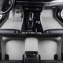Car-Floor-Mats Cadillac Escalade Car-Accessories Styling Car Travel Custom for SRX CTS