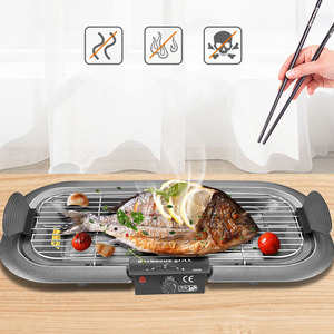 Electric BBQ Grills Patio Barbecue Charcoal Grill Stove Indoor Outdoor Camping Picnic Travel Barbecue BBQ Accessories Tools