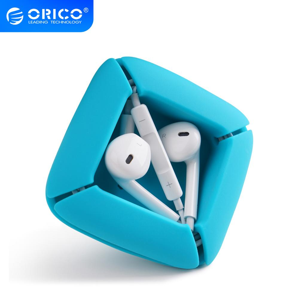 ORICO ELR1 Earphones <font><b>Organizer</b></font> Silicone <font><b>Cable</b></font> Winder <font><b>Cable</b></font> Manager for Earphone Headphone <font><b>Cables</b></font> image