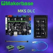 Makerbase mks dlc grbl offline placa de controle do laser cnc tft35 tft24 tela toque substituir escudo v3 uno r3 placa expansão
