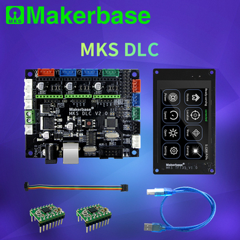 Makerbase MKS DLC GRBL OFFLINE Laser CNC control board TFT35 TFT24 touch screen replace cnc shield v3 UNO R3 expansion p