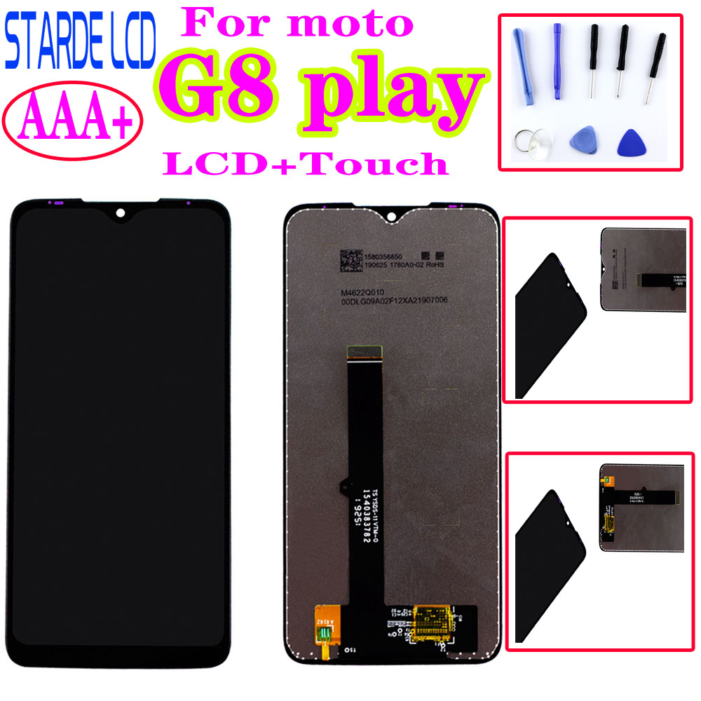 Original For Moto G8 Play LCD Display Touch Screen Digiziter Assembly Replacement For Motorola G8Play Display