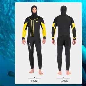 Image 4 - 7Mm Neoprene Spearfishing Wetsuit Full Body Front Zipดำน้ำชุดสำหรับชายล่าสัตว์ใต้น้ำว่ายน้ำSurfing Wetsuits