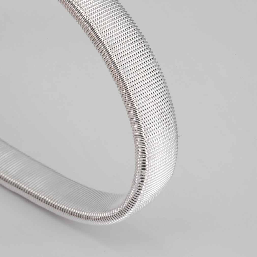 Calentadores de brazo deporte antideslizante Metal elástico brazalete camisa manga soportes bandas de brazo elástico brazalete de Hombre Accesorios de brazo