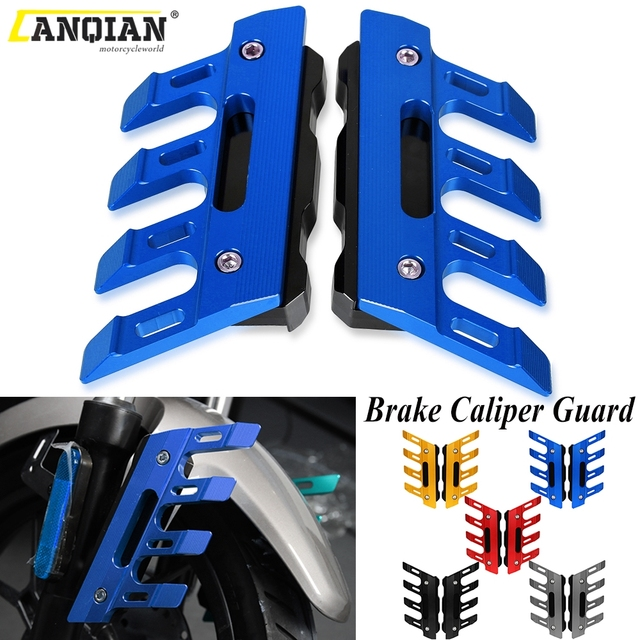 Motorcycle Front Fender Side Brake Caliper Guard For YAMAHA VMAX1200 VMAX V MAX 1200 1700 Mudguard Sliders Lower Fork Protection
