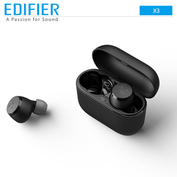EDIFIER X3 TWS Earbuds Wireless Bluetooth Earphone Support aptX Voice Assistant Touch Control IPX5 Sport Top Selection Earphone