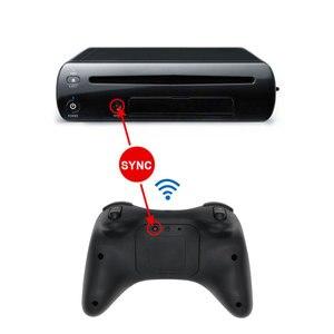 Image 4 - Mando inalámbrico con Bluetooth para Nintendo Wii U Pro, mando analógico doble, clásico, para WiiU Pro U