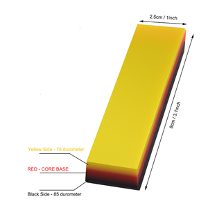 Image 5 - FOSHIO 2in1 Soft Rubber Squeegee Car Cleaning Tool Window Tint Carbon Fiber Vinyl Car Wrap Film Install Scraper Stickers Remover
