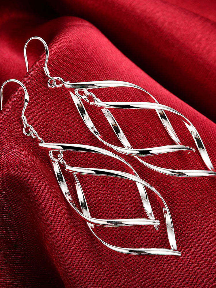 925-Silver Jewelry Drop-Earring Hanging High-Quality Women New-Arrival