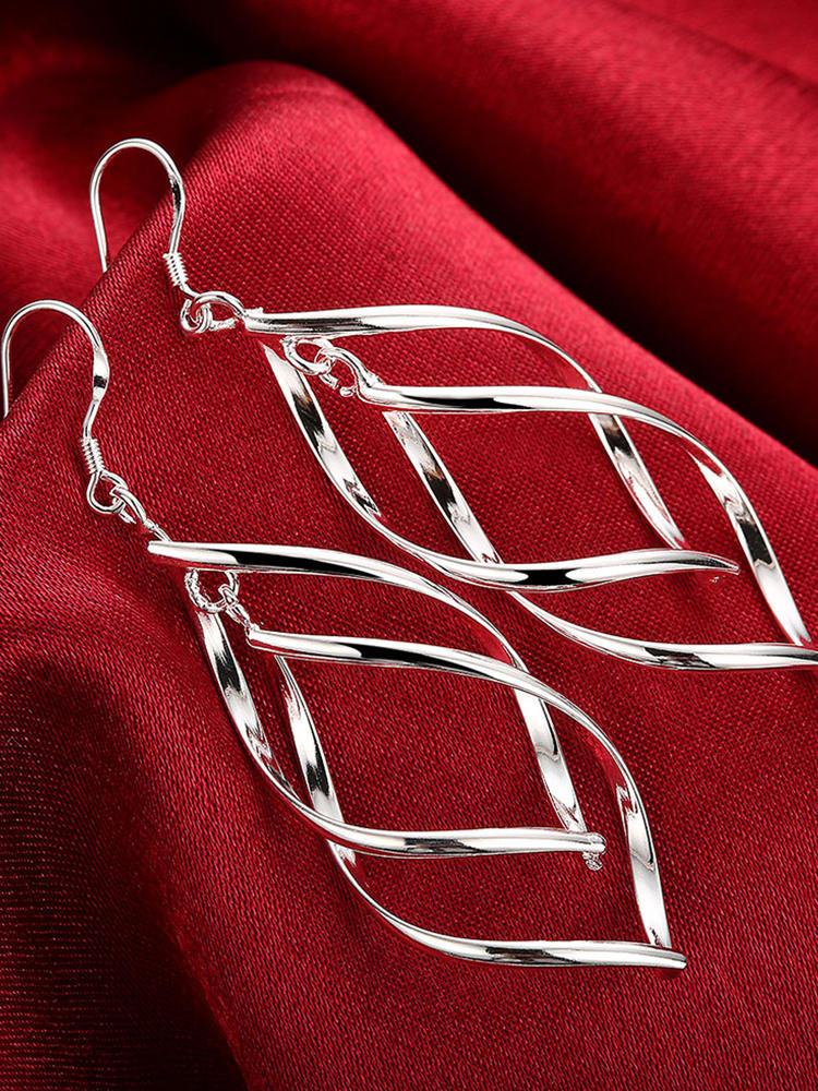 2020 Новое поступление 925 серебряные ювелирные изделия женские высококачественные длинные серьги висячие серьги ювелирные изделия