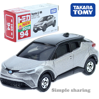 Takara Tomy Tomica No.094 Toyota CH-R Scale 1/64 Car Hot Pop Kids Toys Motor Vehicle Diecast Metal Model Collectibles New image