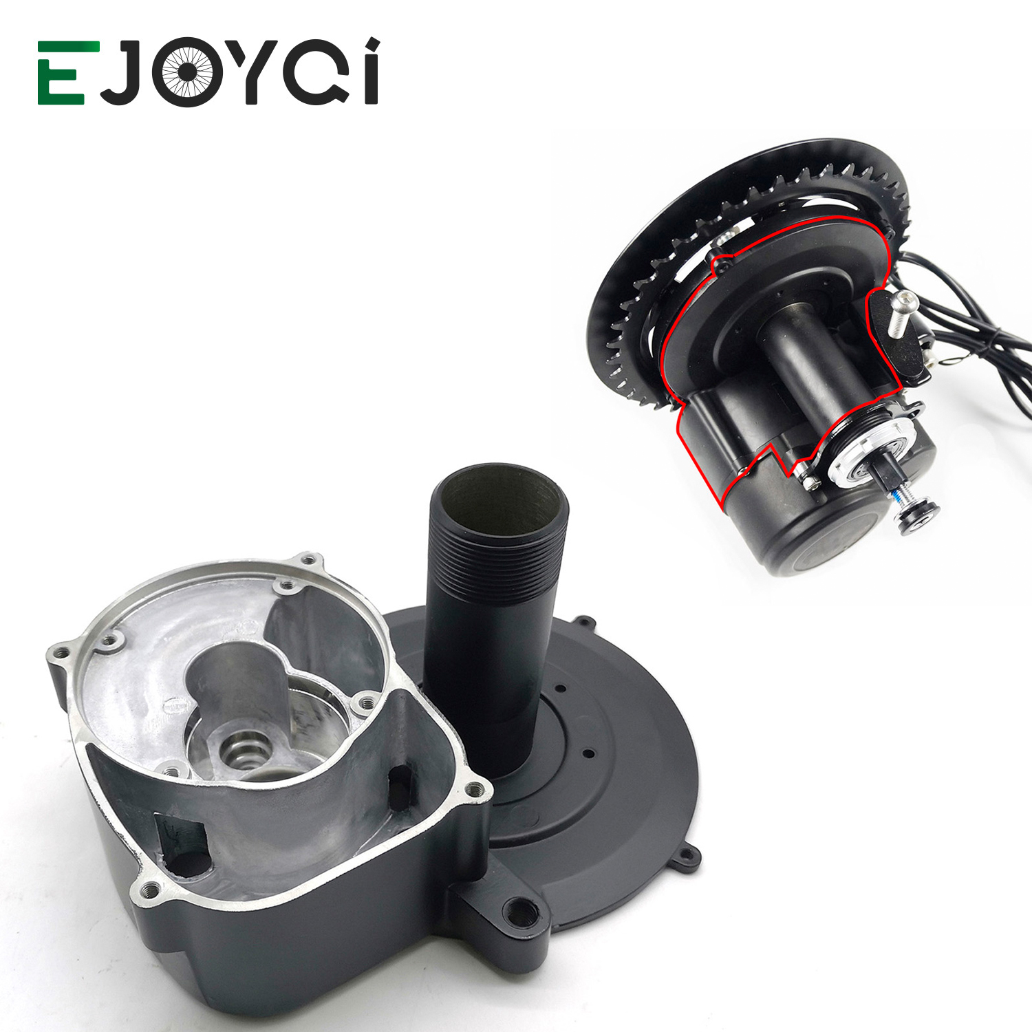TSDZ 2 TongSheng Mid Motor Hub Outer Casing Electric Bicycle Ebike Parts Accessories Hub Shell For TSDZ 2 Central Motor