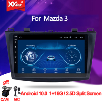 Android 10. 0 For Mazda 3 2004-2013 maxx axela Car DVD GPS Radio Stereo Car Multimedia Player audio autoradio mic no 2 din image