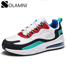 Brand Men Women Mesh Sneakers Breathable Air Cushion Couple Sneakers Outdoor Cas