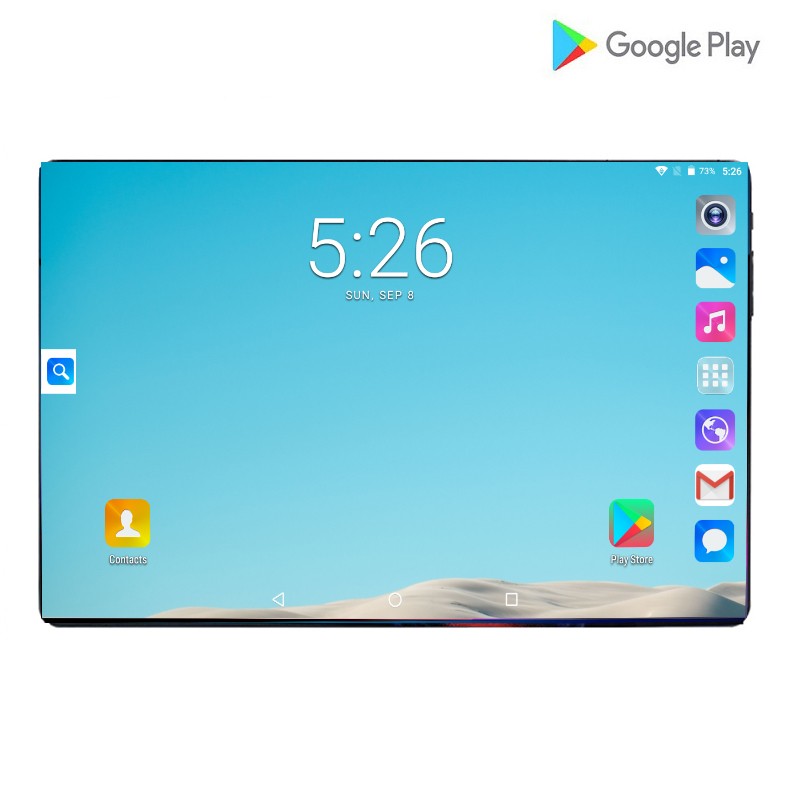 2019 Newest 10inch Tablets PC 4G LTE 2.5D Tempered Glass 6000mAh Android 9.0 OS GPS Wifi 6GB RAM 64GB ROM IPS Octa Core Tablets