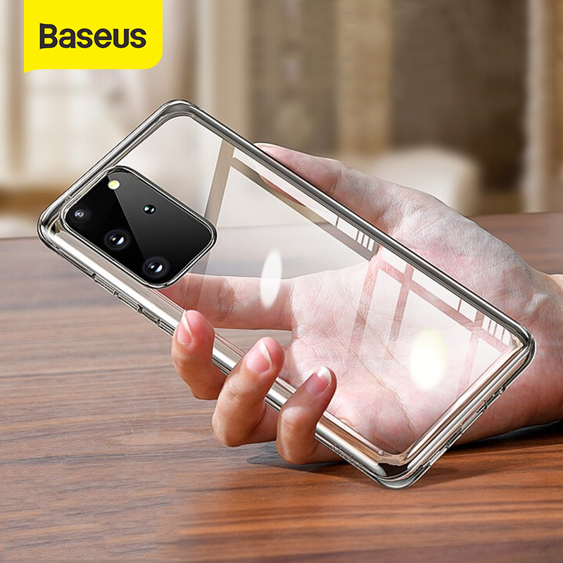Baseus Phone Case For Samsung S20 Case Slim Transparent High Clear Soft TPU Case For Samsung Galaxy S20 Plus S20 Ultra Cover