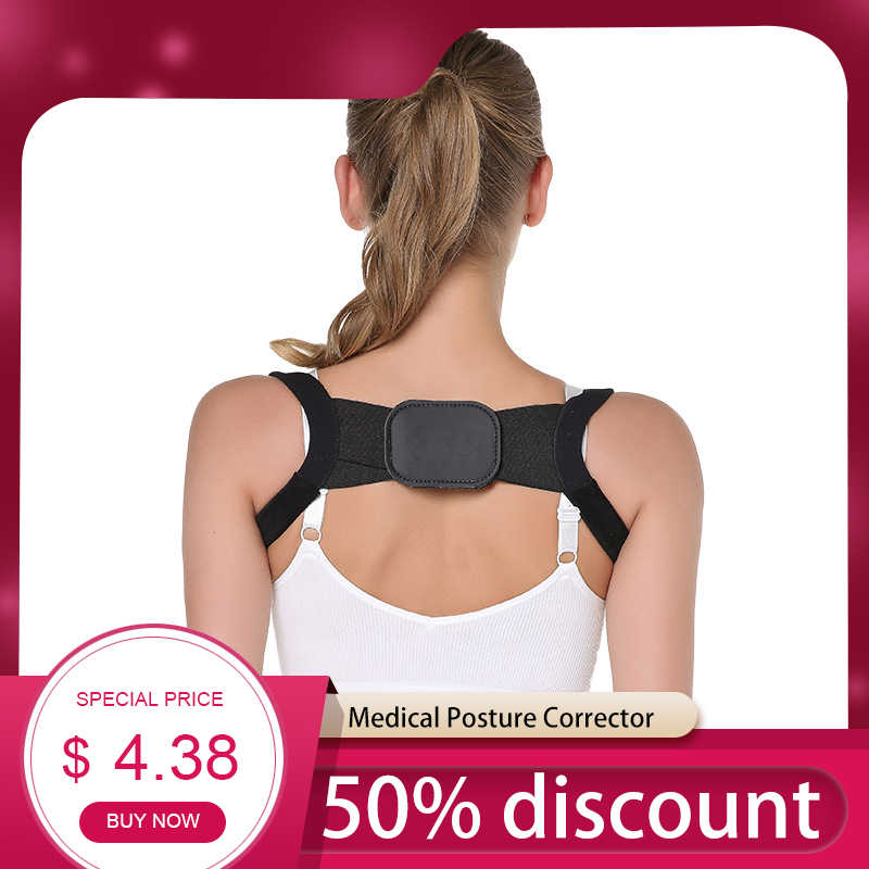 Professional Posture Corrector Clavicle Posture Corrector Back Support Belt Brace Shoulder Correct Adult Children 2019