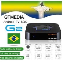 [Brazil] GTMEDIA G2 TV Box+IPTV server 4K HDR Android 7.1 Ul