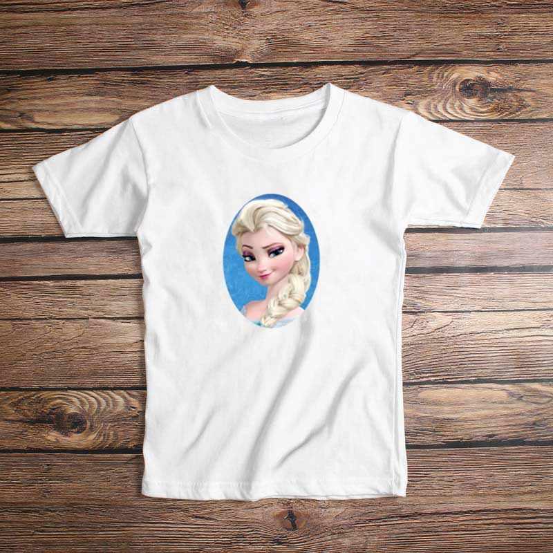 Nàng công chúa Bé Gái Áo Hoạt Hình Công Chúa In, Chất Liệu Cotton TEE Áo Trẻ em Áo Khoác Ngoài Quần Áo Cao Cấp 3 6 năm