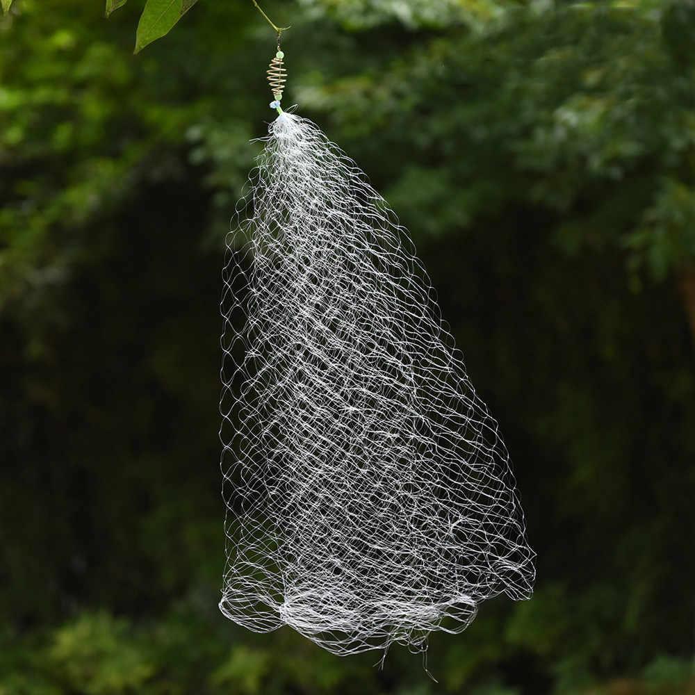Câu Cá Bẫy Lưới Fishnet Giải Quyết Mắt Lưới 1 Cái Câu Cá Lưới Lưới Dạ Quang Đính Hạt Lò Xo Kim Loại Bãi Cạn Lưới Kèm Mồi thức Ăn