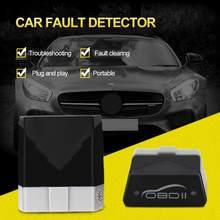 Venda quente de alta qualidade mini elm327 bluetooth v4.0 obd2 ferramenta diagnóstico firmware obd2 leitor código ferramentas verificação carro detector falha
