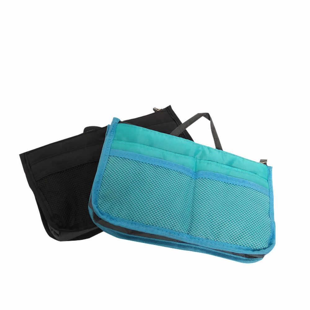 Shushi 無地化粧ポーチ旅行バッグ女性のハンドバッグ化粧ケース化粧品女性バッグハンドバッグ浴室ガジェット