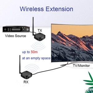 Image 4 - Prolongateur HD sans fil 50M 2.4G/5G 1080P, émetteur récepteur, Extension compatible Hdmi, convertisseur Audio vidéo DVD PC vers TV