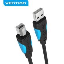 Vention USB Cable USB para impresora tipo B macho A macho USB 2,0 Cable para Canon Epson HP ZJiang impresora de etiquetas USB 2,0 Cable de impresora