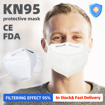 10PCS Reusable N95 Mask Anti Virus Flu Anti Infection KN95 Mouth Masks Protective Face Masks Same as KF94 FFP2 Breathing Masks