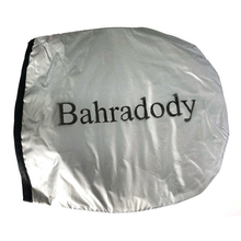 Bahradody 2PCS black side car shades Rear window shades cover mesh sun visors Sun shields and visors for motor cars