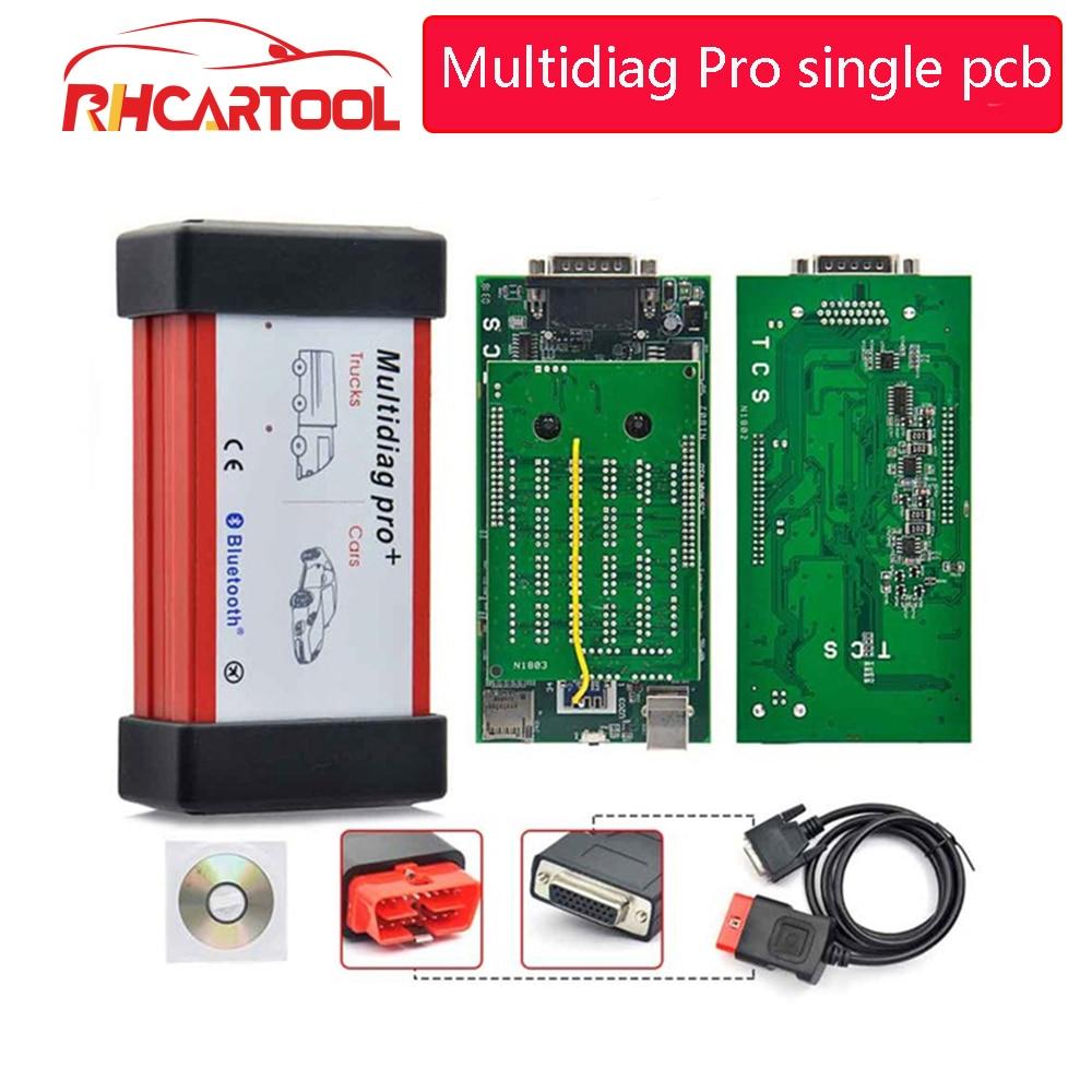 Two Board Multidiag Pro + Bluetooth 2016.00 for Cars/Trucks Auto OBD2 Diagnostic Scan Tool