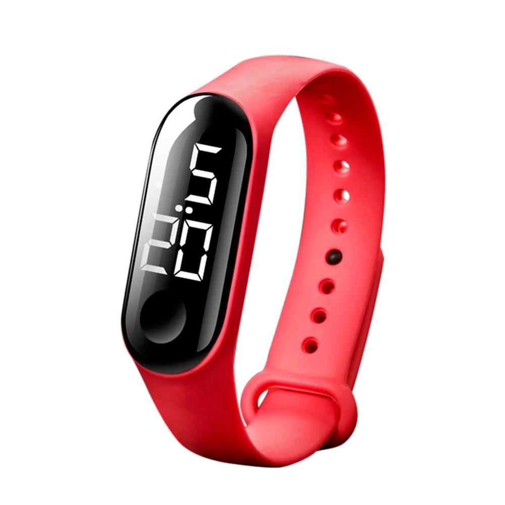50 50mwaterproof メンズ · レディースデジタル腕時計 LED スポーツ時計シリコン腕時計リロイデポルティボやつリロイデジタル montre
