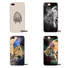 Silicone Shell Cases Fight Chief of Dreams Tiger Tribe For Samsung Galaxy S3 S4 S5 Mini S6 S7 Edge S8 S9 S10 Plus Note 3 4 5 8 9(China)