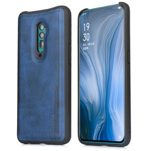 For Oppo Reno 10x Zoom Case Retro Leather Anti-Scratch 360 Degree Protection Armor Cover For Oppo Reno 10x Zoom Case Shockproof цена