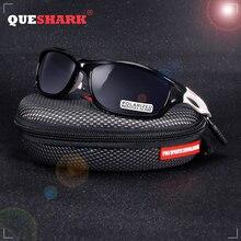 QUESHARK небьющиеся TR90 Untralight рамки HD поляризованные солнцезащитные очки для рыбалки очки для мужчин и женщин Пешие прогулки бег гольф