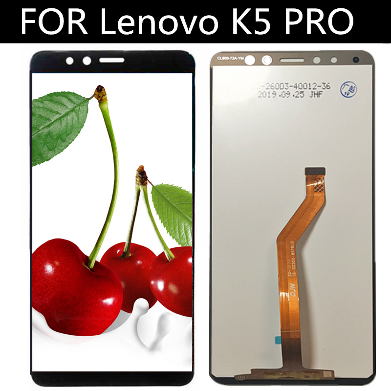 FOR <font><b>Lenovo</b></font> <font><b>K5</b></font> <font><b>PRO</b></font> <font><b>L38041</b></font> LCD Display and Touch Screen Assembly Replacement for phone <font><b>Lenovo</b></font> <font><b>L38041</b></font> K5PRO LCD Screen image