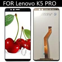 Lenovo K5 PRO L38041 LCD ekran ve dokunmatik ekran meclisi değiştirme telefon Lenovo L38041 K5PRO LCD ekran