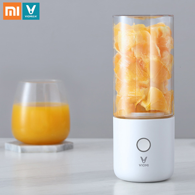 Xiaomi VIOMI 350ml Electric Juicer Portable Electric Juicer Cup 2000mAh Battery Type C Rechargeable Blender Jucing Xiaomi VIOMI 350ml Electric Juicer Portable Electric Juicer Cup 2000mAh Battery Type-C Rechargeable Blender Jucing Machine