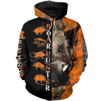 Tessffel Newest Boar Hunter Animal Hunting Camo Tattoo 3DPrint Pullover Newfashion streetwear Zip/Sweatshirts/Hoodies/Jacket N11 40mm pd40j 4 stroke motorcycle carburetor vacuum carburetor case atv quad carb for polaris scrambler 500 4x4 sportsman 500 worke