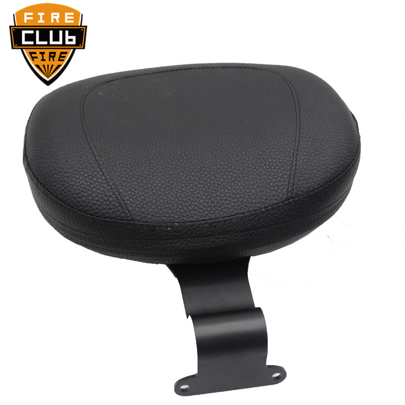 Motorcycle Front Driver Rider Backrest For Yamaha Bolt XV950 XVS950 2014-2019 2015 2016 2017 2018 Leather Cushion Pad
