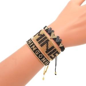 Image 2 - Go2boho Leopard Bracelet CHINGONA Power Pulseras Mujer Moda 2020 Heart Evil Eye MIYUKI Bracelet Jewelry FEMINISTA Women Handmade