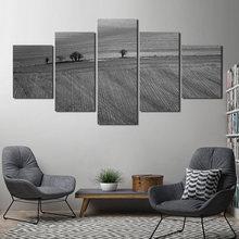 Декоративная живопись в скандинавском стиле пейзаж дерево и