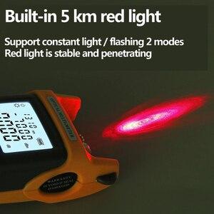 Image 2 - Fiber optik FTTH aracı kiti ile FC 6S Fiber Cleaver ve optik güç ölçer 5km görsel hata bulucu 1mw tel stripper