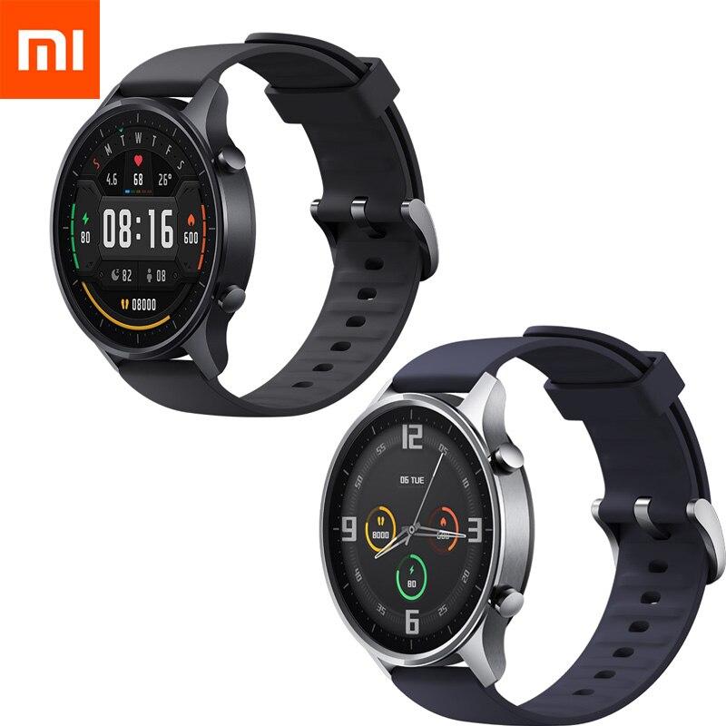 Xiaomi smart watch colorido, relógio inteligente com tela de 1.39 ''amoled, gps, à prova d' água