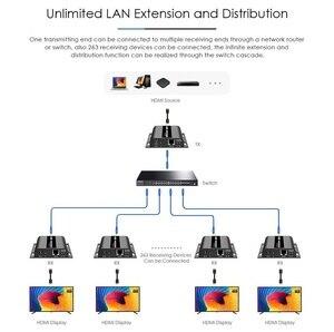 Image 5 - *Extra Transmitter*, For LKV383 V4.0 HDbitT HDMI 1080P 120m Extender LAN Repeater over RJ45 Cat5e/6,Compatible with LKV373A V3.0