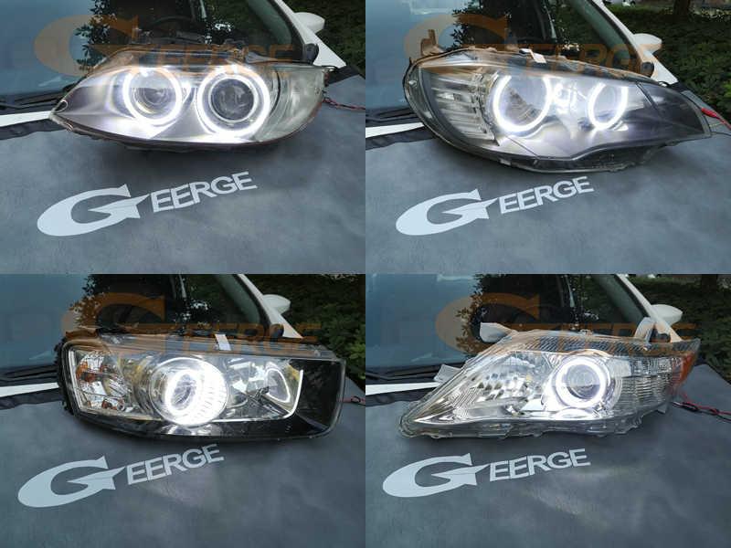 Tuyệt Vời 4 SMD LED Đôi Mắt Thiên Thần Siêu Sáng Đôi Mắt Thiên Thần Bộ DRL Dành Cho Xe Ford Fiesta Căng Da Mặt Mk6.5 2005 2006 2007 2008