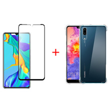 Shockproof Case for huawei p30 lite pro case Huawei P30 soft transparent back cover protective shell