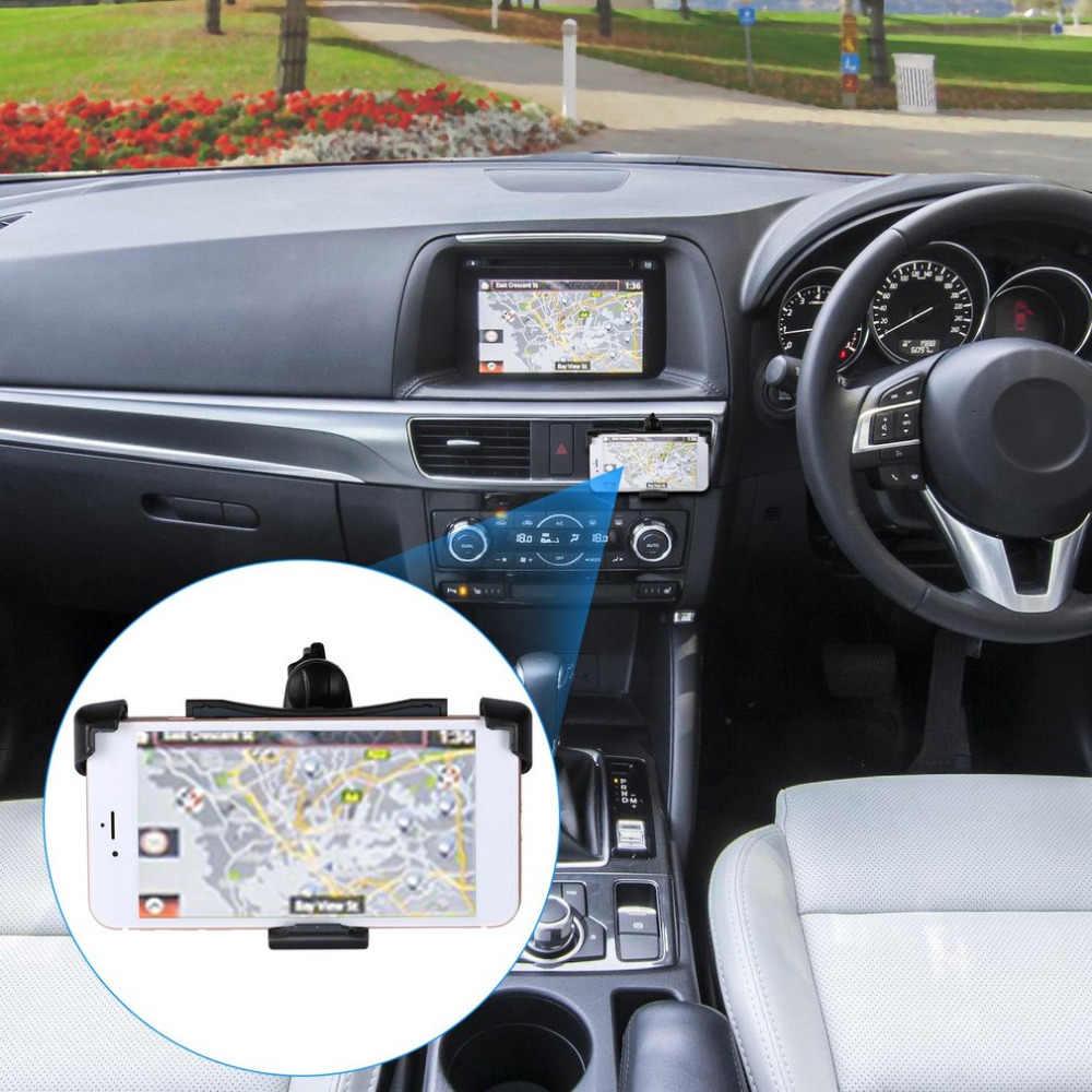 Universele Auto Telefoon Mount Houder Auto Air Vent Outlet Stand Beugel 360 Roterende Verstelbare Schakelaar Veiligheidsslot Telefoons Houder