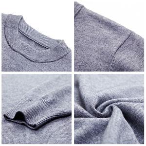 Image 5 - COODRONY marque Pull hommes automne hiver épais chaud Pull Homme classique décontracté col rond Pull hommes cachemire laine tricots 91109