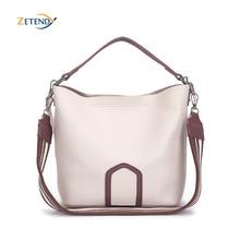 السيدات حقيبة كروسبودي الأوروبية والأمريكية الترفيه حقيبة كتف الموضة عالية الجودة الصلبة حقيبة يد بسيطة شرابة دلو